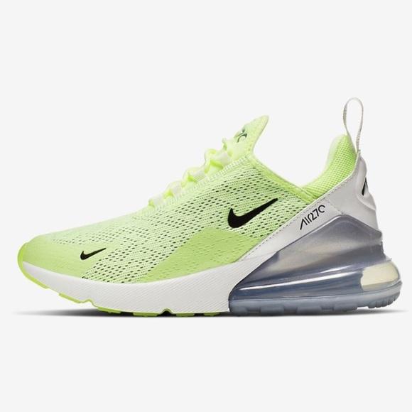 Nwt Womens Nike Neon Volt Air Max 27